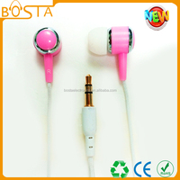 Popular stereo fashion hot selling top quality funny promotional zip eraphone