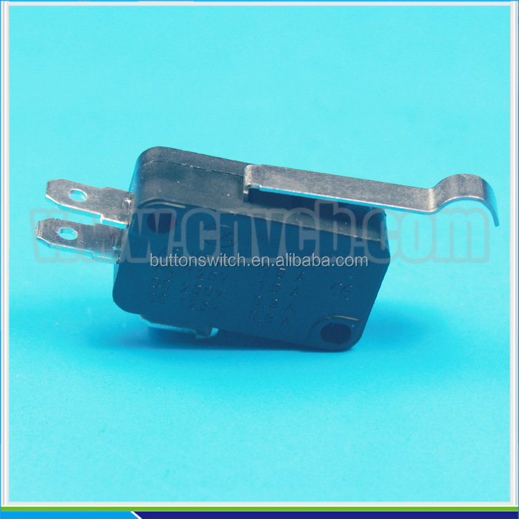 M19 KW7-5 3pin lever electrical omron micro switch 24V arc lever switch