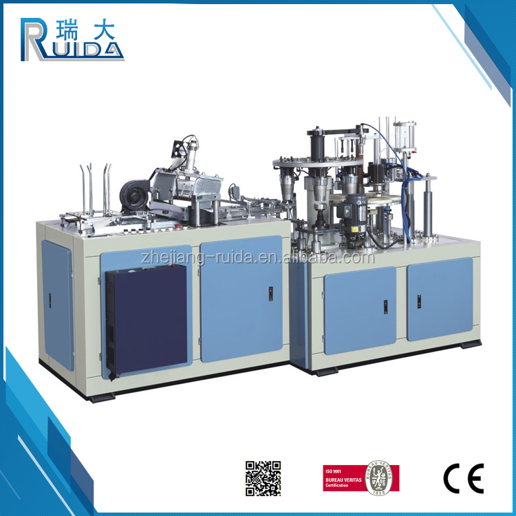 RUIDA China Afford EBZ-09 Style High Speed Paper Cup Making Machine In Korea