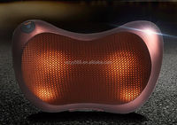 New Model Back and Neck Roller Ball Pillow massager with kneading heat fuction