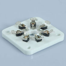 7pin Ceramic Tube Socket Audio Amplifier 6C33 plug
