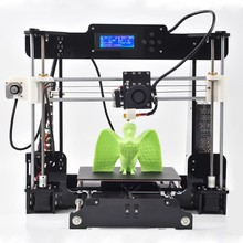 2016 New Upgraded Quality High Precision Reprap Prusa I3 DIY Full clear Acrylic LCD 3d Printer Kit 3D printing machine for sale