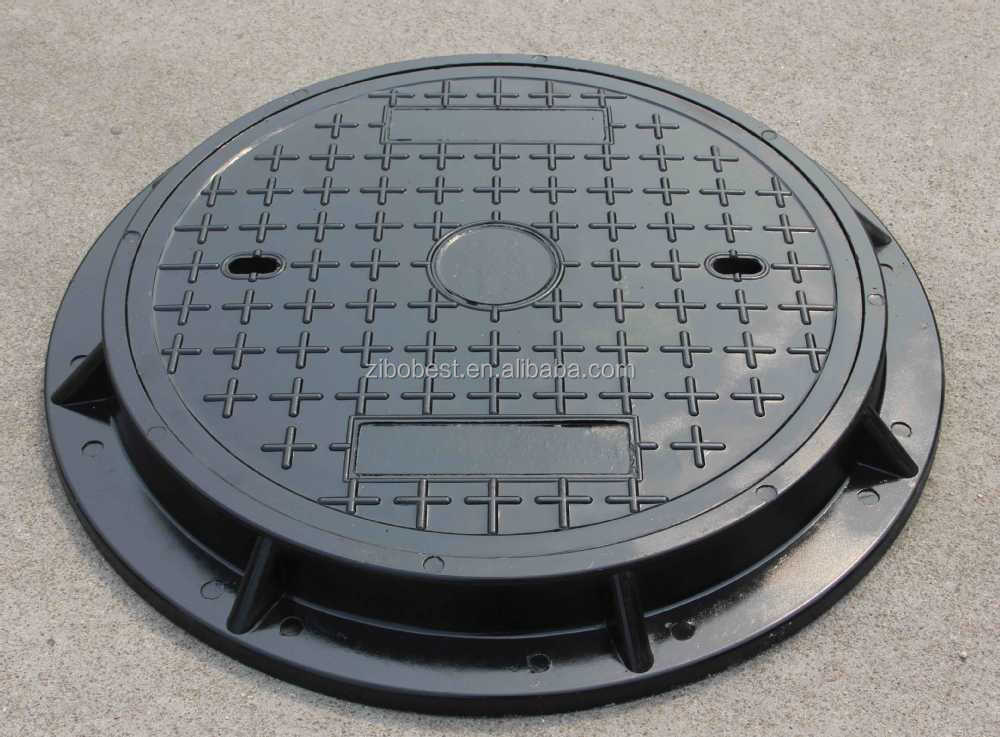 battery cover for samsung Composite plastic manhole cover with screw