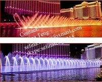 advanced musical dancing water fountain for hotels, resorts and casinos parks- design and construction