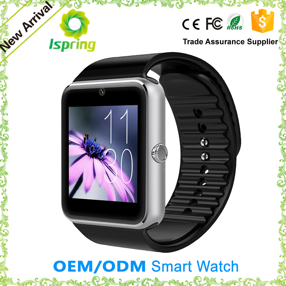 price of smart watch phone gt08 with fee ce rohs,watch smart gv08,for samsung galaxy gear smart watch
