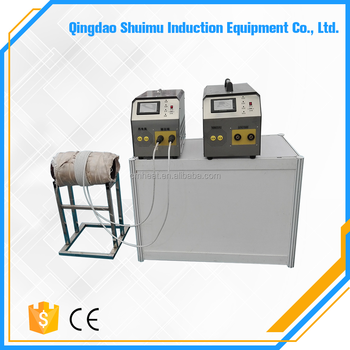 Induction weld preheat PWHT stress relieving heating treatment machine