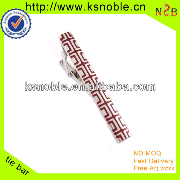 beautiful wholesale gift long red slim security tie clips
