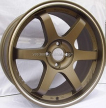 hot selling japanese replica 5*114.3 alloy wheel