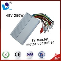 48V 250W the best bldc motor controller for electric tricycle 12 mosfet