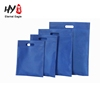 No printing cheap small size non woven tote flat bag