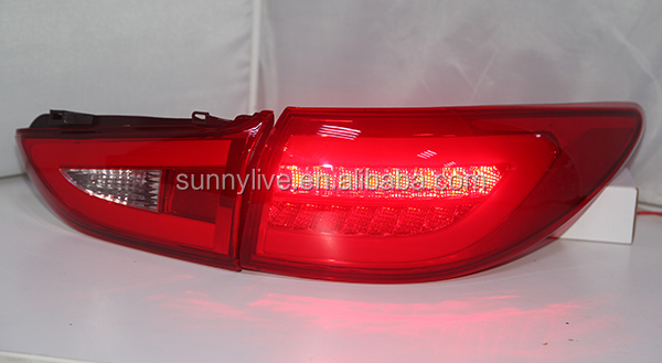 For MAZDA 6 ATENZA LED Tail Lamp 2013-UP year Red Color BW