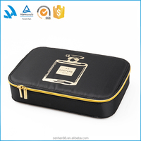 New arrived fashion travel use hard case cosmetic bags and cases