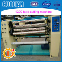 GL-210-1300 bopp adhesive tape slitting machine for small clear tapes