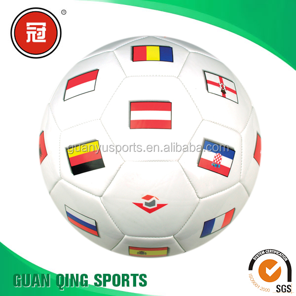 Soccer Ball Size 5 Sports Goods National Flag Pattern Popular Design