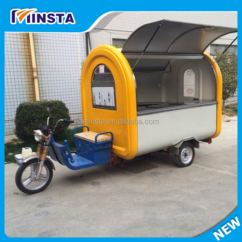 gas/electric mobile fast food vending ice cream field trailer/cart popcorn truck/kitchen coffee van/kiosk