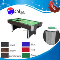 high quality and customized design 7ft,8ft billiard table/ pool table