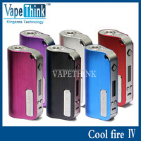 Newest Updated Version Cool fire 40w Box Mod Sub Ohm Box Mod Innokin Cool Fire 4 Ecig Cool Fire 4