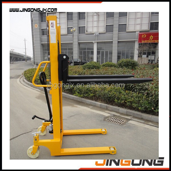 Manual Hydraulic Forklift Manual Pallet Stacker on sell with good quality