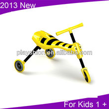 Kids Pedal Kick Scooter Bug With Fold Up Design 2013 New