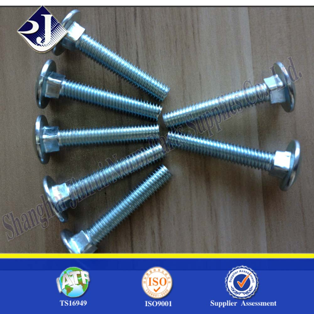 m8 square head bolt round head oval neck bolt mushroom head square neck bolts