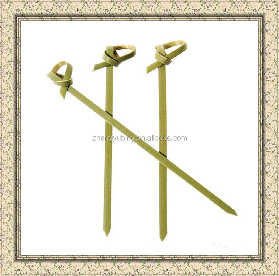 Whosale BBQ color bamboo sticks&skewers
