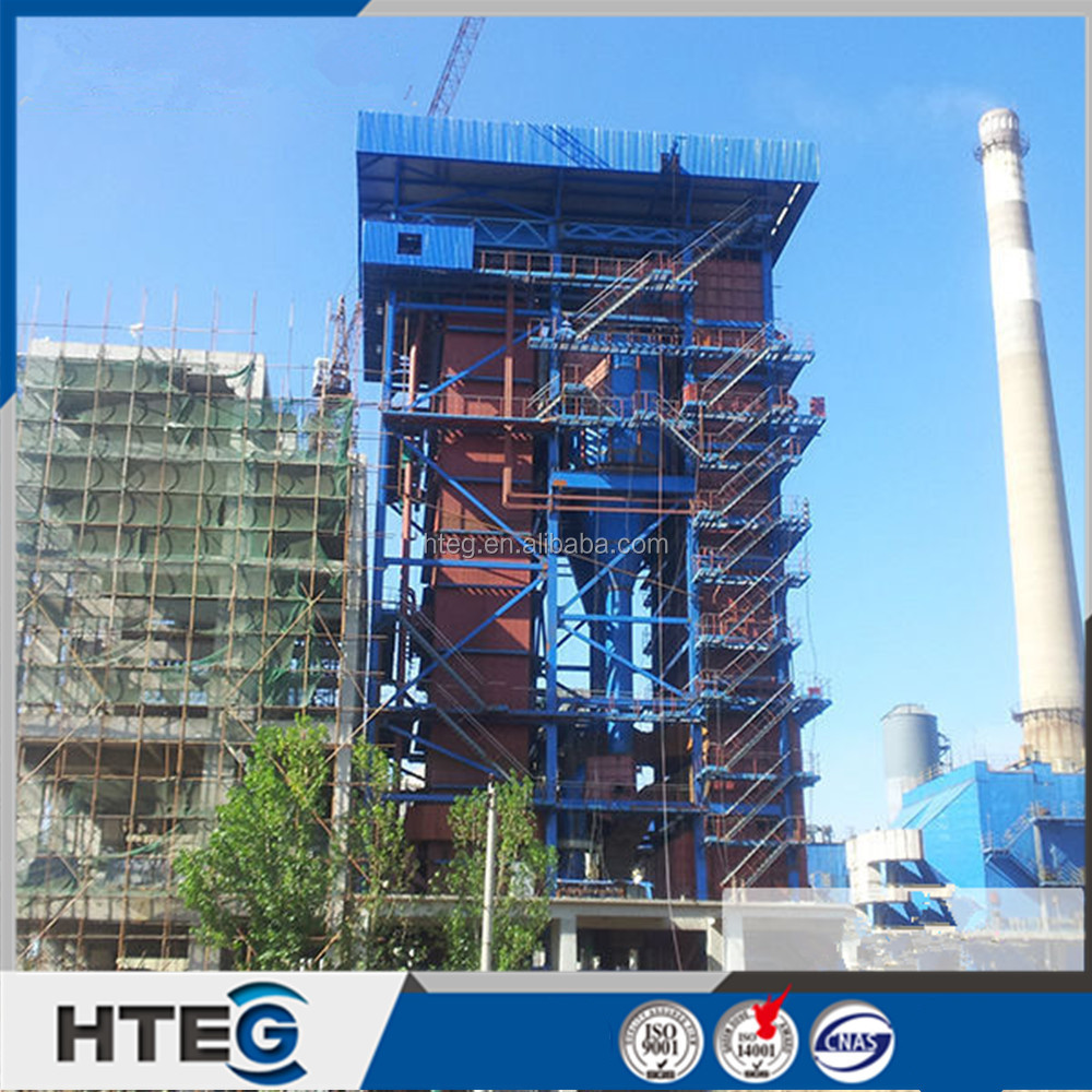 Power plant 240 t/h high thermal efficiency circulating fluidized bed steam boiler