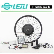 2015 New design !! 36v 500w motor bicycle engine kits with lithium battery