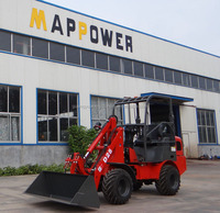 2014 advanced D25 electric hydraulic mini garden wheel loader for export