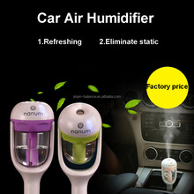 New car diffuser aromatherapy aroma humidifier portable mini car essential oils diffuser Air Purifier humidifier