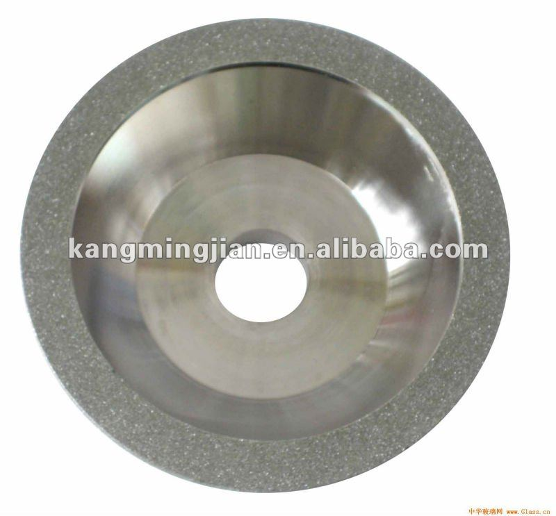good sharpness resin bond glass grinding wheel