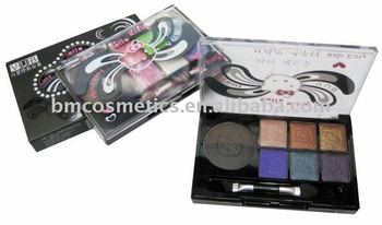 8colors eyeshadow + 2colors eyebrow powder factory direct sale