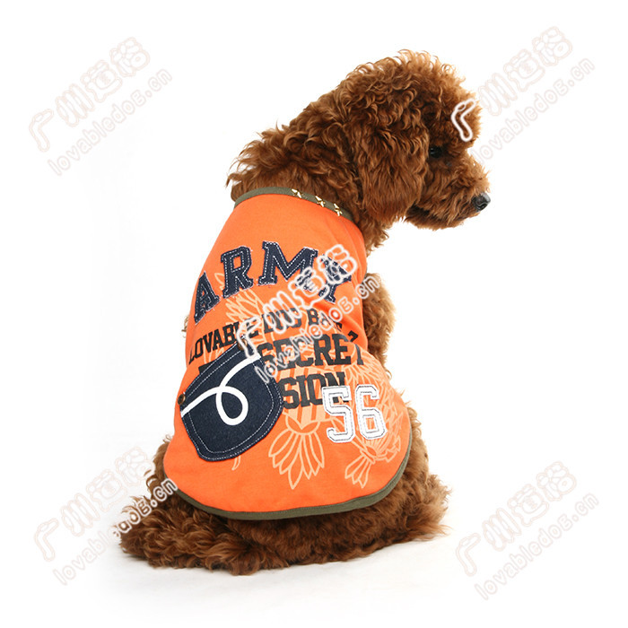 New pet apparel dog clothes T-shirt dog clothing dog accessories