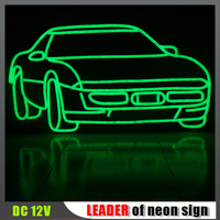 Holiday Decoration waterproof Customize Flexible neon taxi sign, taxi led signs