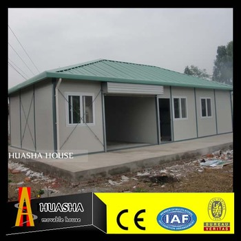 72m2 large space prefabricated portable container homes design