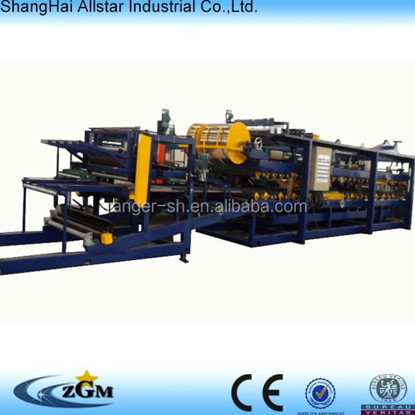 equipment for small business at home: rock wool sandwich panel production line