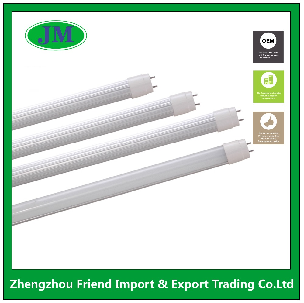 Aluminum lamp body excellent heat dissipation 18w 20w 1200mm 4ft integrated T8 LED tube