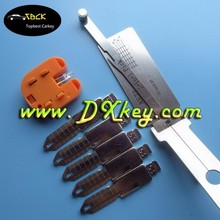 Topbest car lock pick tool kit for NE72 2 in 1 auto pick and decoder for Peugeot 206 and Renault