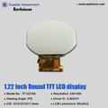 ips lcd panel 1.22inch round display spi 4 lines screen for smart device