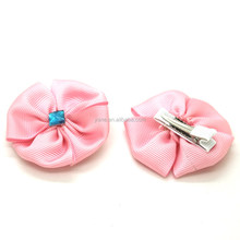 lovely customized alligator hair accessories clips for girls with flower