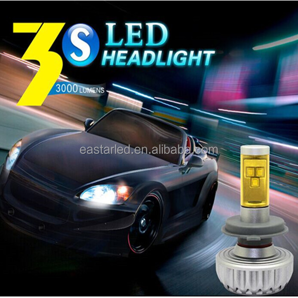 Special design 6000lm Head H7 car led bulb