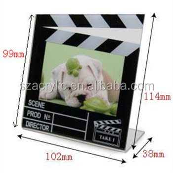 cheap acrylic director frame photo