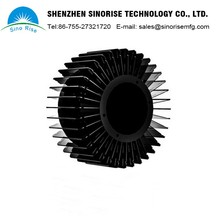 China suppliers Cheap CNC OEM LED Lamp Parts Round Aluminum Heatsink