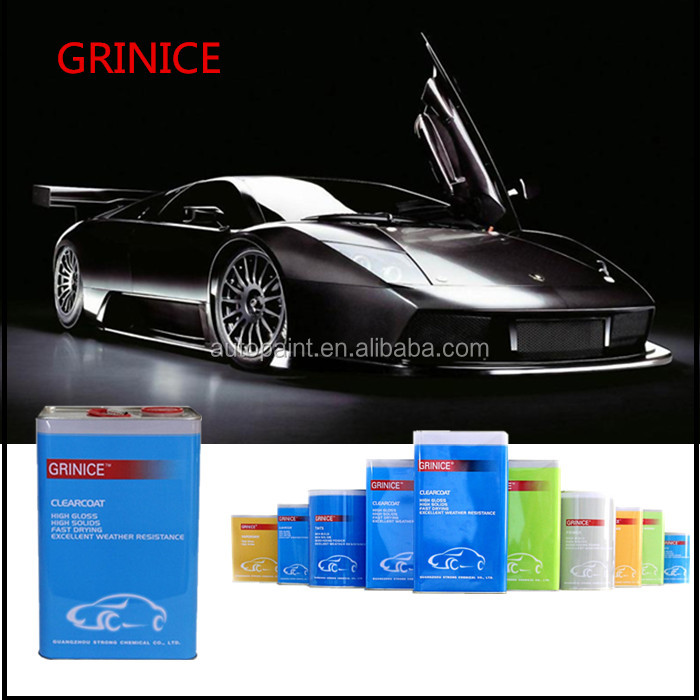 super hydropbic & heat resistant blueish black solid color car paint topcoat