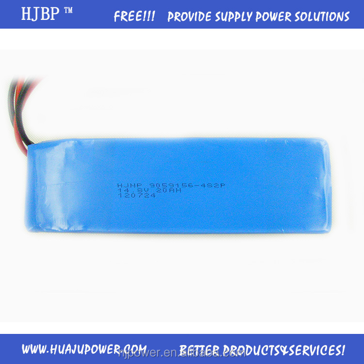 Professional Manufacturer Selling Rechargeable 4S Lipo 14.8V 4500mAh 25C RC Battery for Helicopter /Drone / Plane