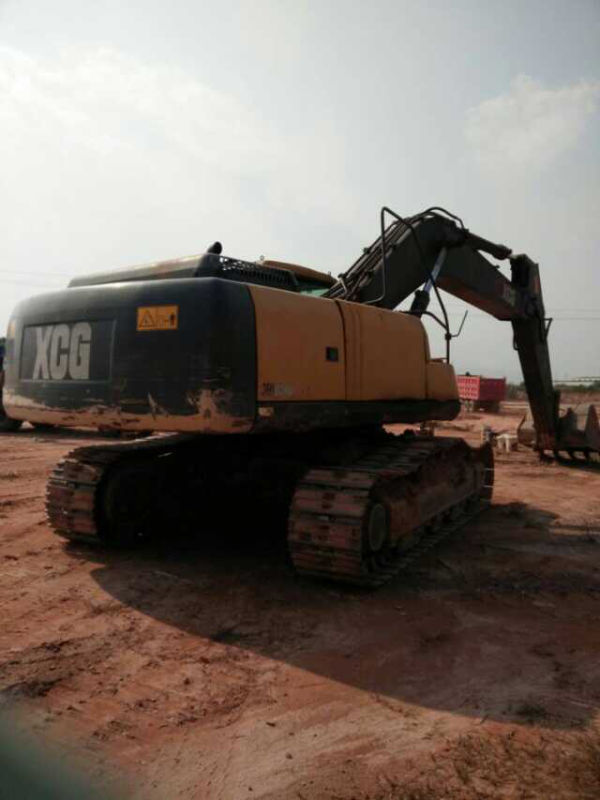 used John deere excavator 330lc new model with coolant