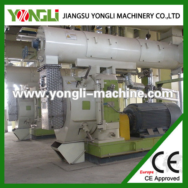 Turn key complete low investment floating fish feed pellet mill line