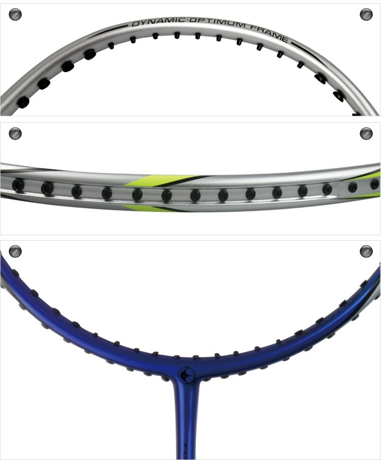 KUNLI 79 dark blue badminton racket full carbon professional TB NANO technology feather racket