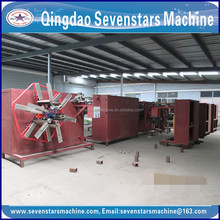hdpe pipe production line/single wall corrugated pipe /automatic coil winding machine