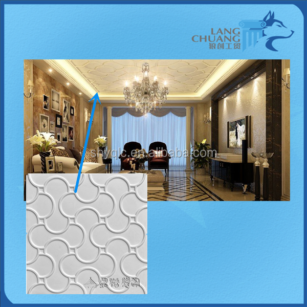 Insulative Finshing Materials Chinese Hot Sale White Gypsum Wall Panel