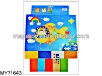 Diy adhesive mosaic art & educational toy kids mosaic craft for kids